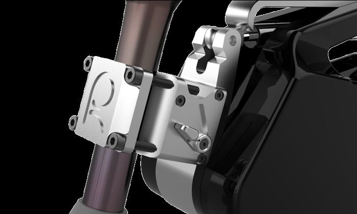 Mécanisme de verrouillage de ce moteur électrique